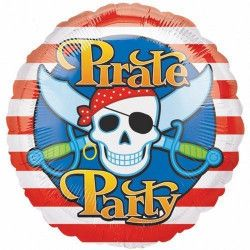 Ballon aluminium Pirate  048419397755