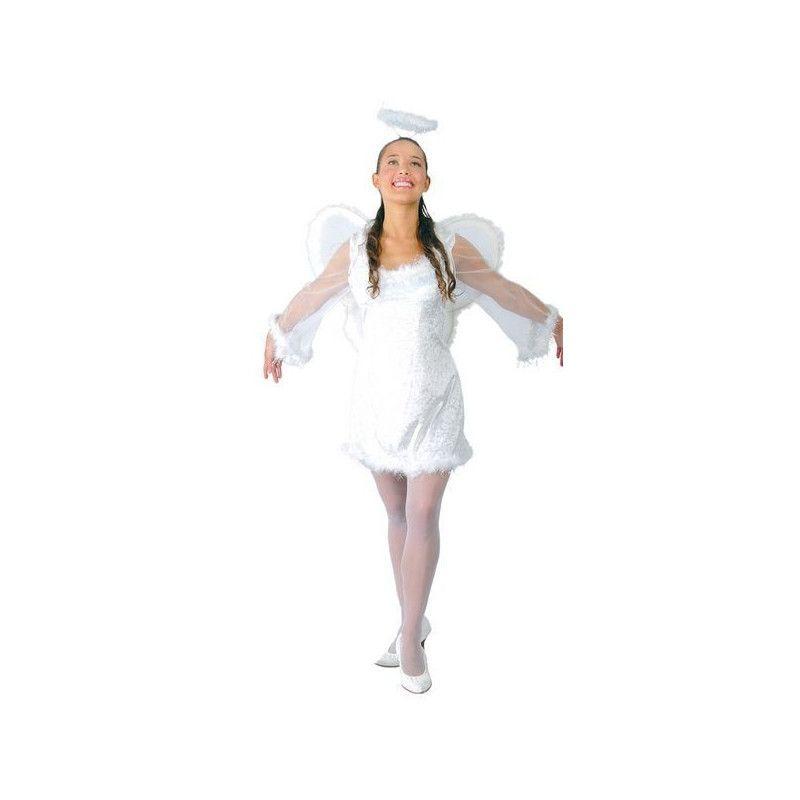 Déguisements, Déguisement d'ange femme taille L, 80194, 29,90€