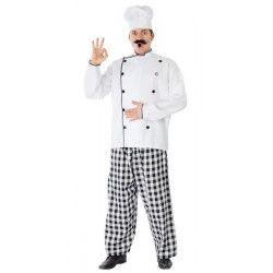 Déguisement cuisinier homme taille M-L Déguisements 80393