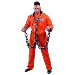Déguisement prisonnier américain US homme taille L Déguisements 80435