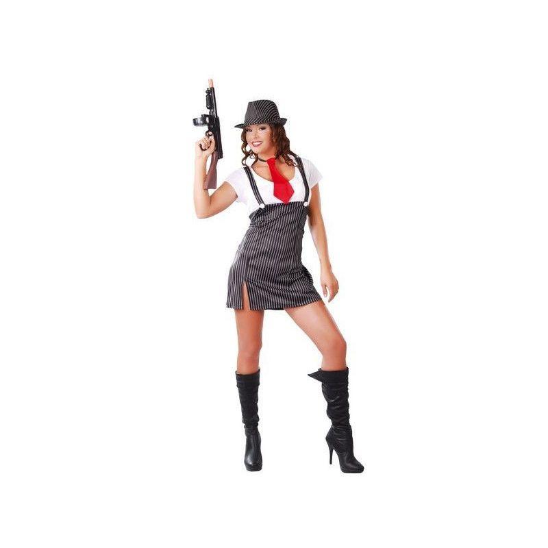 Déguisement gangster femme taille M-L Déguisements 80513
