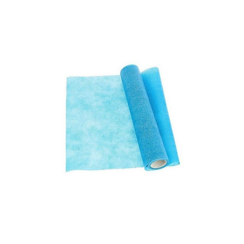 Chemin de table bricotex lurex bleu turquoise 30 cm x 5 m Déco festive 80543831907BLEU TURQ