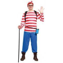 Déguisement Où est Charlie? homme taille L Déguisements 80550