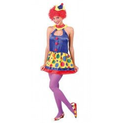 Déguisements, Déguisement clown femme taille M/L, 80613, 18,90€