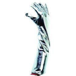 Accessoires de fête, Gants longs argentés 43 cm, 80664, 6,50€