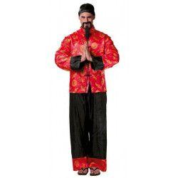 Déguisement mandarin homme taille unique Déguisements 80666