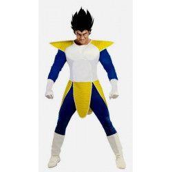 Déguisement Manga bleu jaune homme taille M-L Déguisements 80734