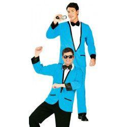 Déguisement veste bleue homme taille unique Déguisements 80749