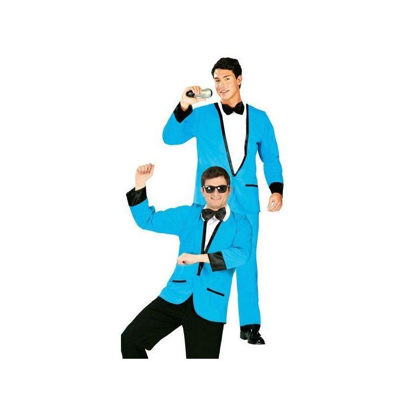 Déguisements, Déguisement veste bleue homme taille unique, 80749, 16,90€