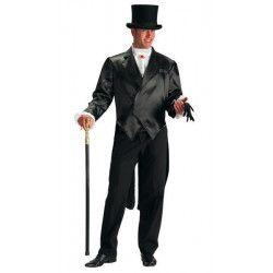 Déguisements, Costume frac noir homme taille XL, 80761, 39,90€