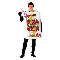 Déguisement carte à jouer Roi de Coeur homme Déguisements 80769