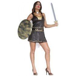Déguisements, Déguisement de romaine adulte avec cape taille L, 80775, 25,90€