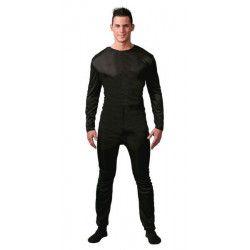 Justaucorps noir homme taille unique L Accessoires de fête 80788