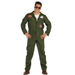 Déguisement pilote de chasse homme taille L Déguisements 80803
