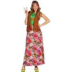 Déguisement hippie avec gilet femme taille M Déguisements 80862