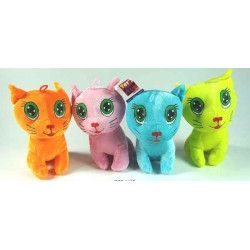 Peluche chat fluo 3760166881185