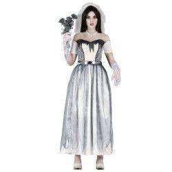Déguisements, Déguisement mariée fantôme adulte taille M, 80942, 23,90€