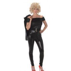 Déguisement noir années 80 femme taille L Déguisements 81010L-149036