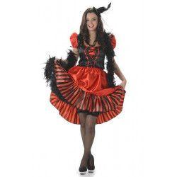 Déguisement saloon rouge femme taille M Déguisements 81045M-149086