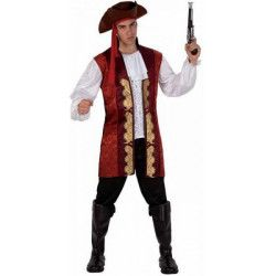 Déguisements, Déguisement homme Pirate taille XL, 11867, 29,90€