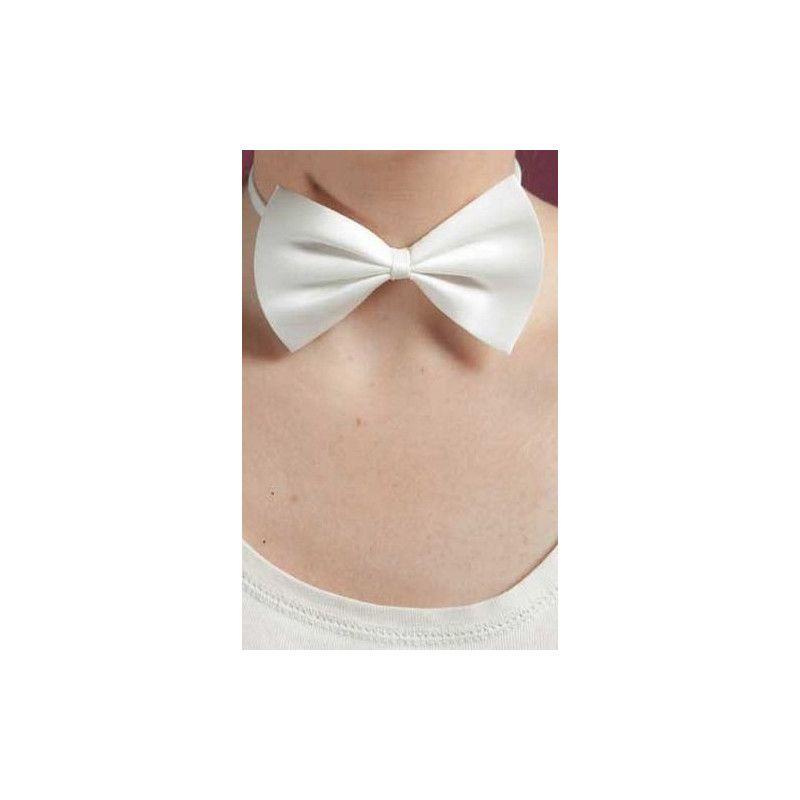 Accessoires de fête, Noeud papillon blanc, 11891, 2,50€