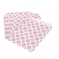 Divers, Sac en papier rétro rose x 25, 8126, 2,60€