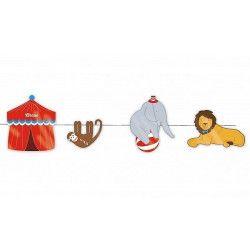 Guirlande circus décorative 3 m Déco festive 81275