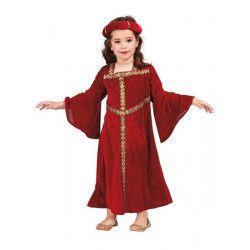 Déguisement dame médiévale bordeaux enfant 5-6 ans Déguisements 81287
