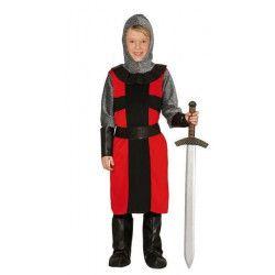 Déguisements, Déguisement chevalier templier garçon 7-9 ans, 81362, 22,90€