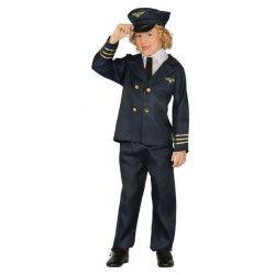 Déguisement pilote de ligne garçon 4-6 ans Déguisements 81381