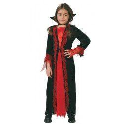 Déguisements, Déguisement de vampire fille 4-6 ans, 81816, 22,90€