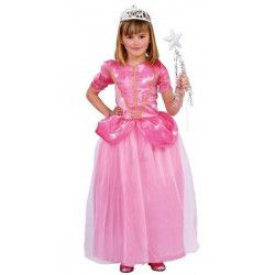 Déguisement princesse rose fille 7-9 ans Déguisements 81857