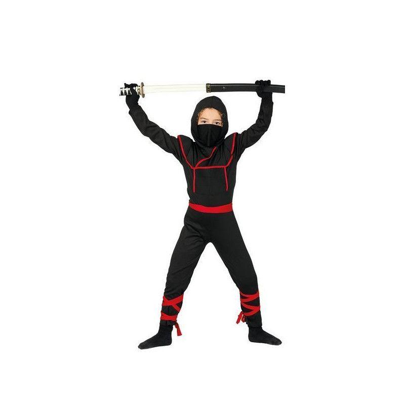 Déguisements, Déguisement ninja noir 4-6 ans, 81886, 16,90€