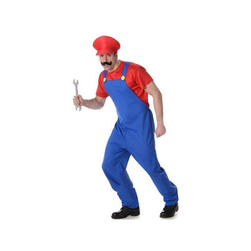 Déguisement plombier rouge homme taille L Déguisements 82013-83153