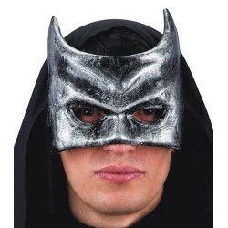 Masque loup homme chauve souris en papier maché Accessoires de fête 822-