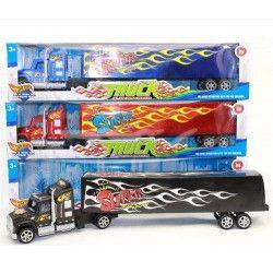 Camion US friction avec remorque jouet kermesse Jouets et articles kermesse 8233