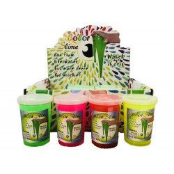 Pâte slime coloris assortis vendue par 12 Jouets et kermesse 8245