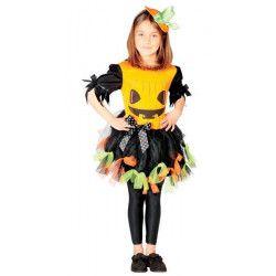 Déguisement petite citrouille fille 5-6 ans Déguisements 82516
