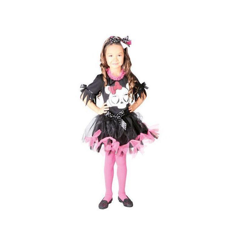 Déguisement robe noire et rose fille 10-12 ans Déguisements 82532