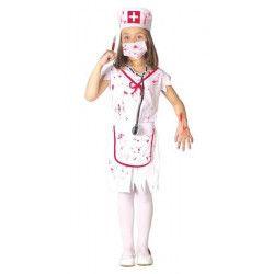 Déguisement infirmière zombie fille 7-9 ans Déguisements 82607