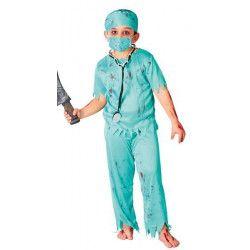 Déguisements, Déguisement infirmier zombie 7-9 ans, 82611, 14,99€