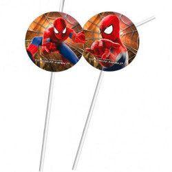 Pailles anniversaire Spiderman Déco festive 82997