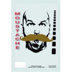 Moustache blonde de gendarme Accessoires de fête 8300010
