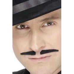 Moustache gangster noire Accessoires de fête 830201