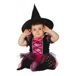 Déguisement sorcière rose et noire bébé 12-24 mois Déguisements 83037