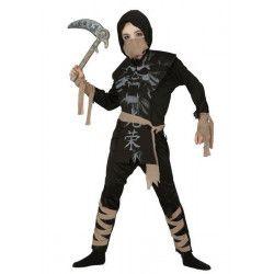 Déguisements, Déguisement ninja fantôme enfant 5-6 ans, 83098, 18,90€