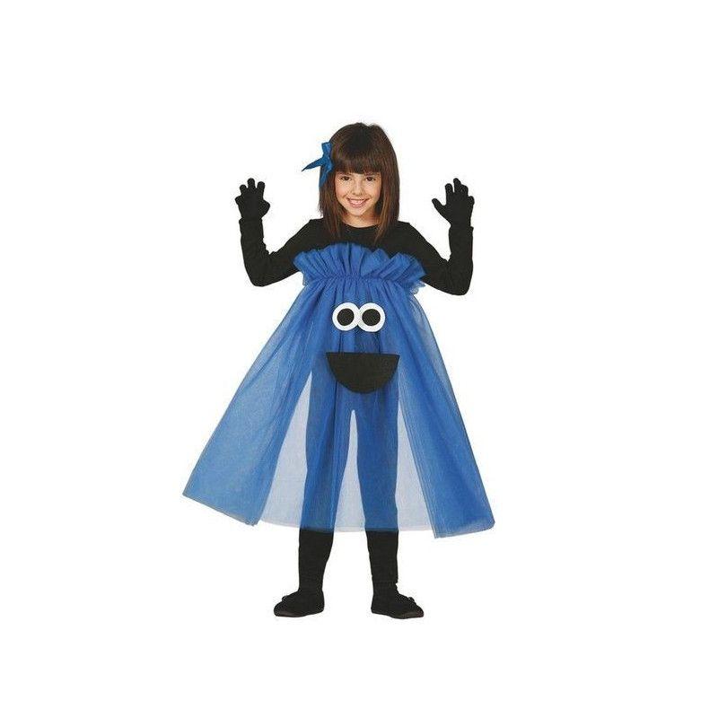 Déguisements, Déguisement monstre bleu fille 3-4 ans, 83121, 16,90€