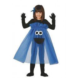 Déguisement monstre bleu fille 5-6 ans Déguisements 83122