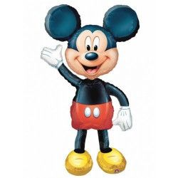 Ballon aluminium marcheur Mickey™ Déco festive 831801
