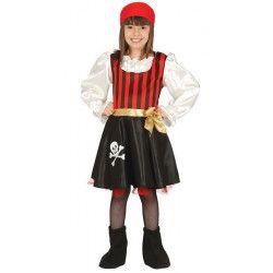 Déguisement pirate corsaire fille 7-9 ans Déguisements 83198